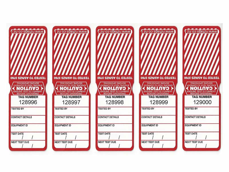 Heavy Duty Red Tags