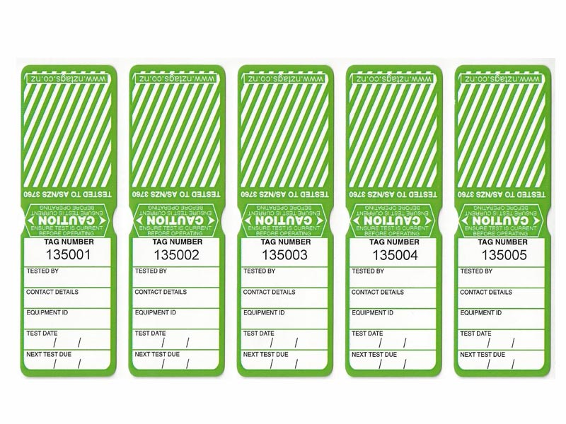 Heavy Duty Green Tags