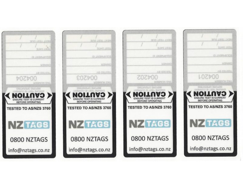Customised Test Tags