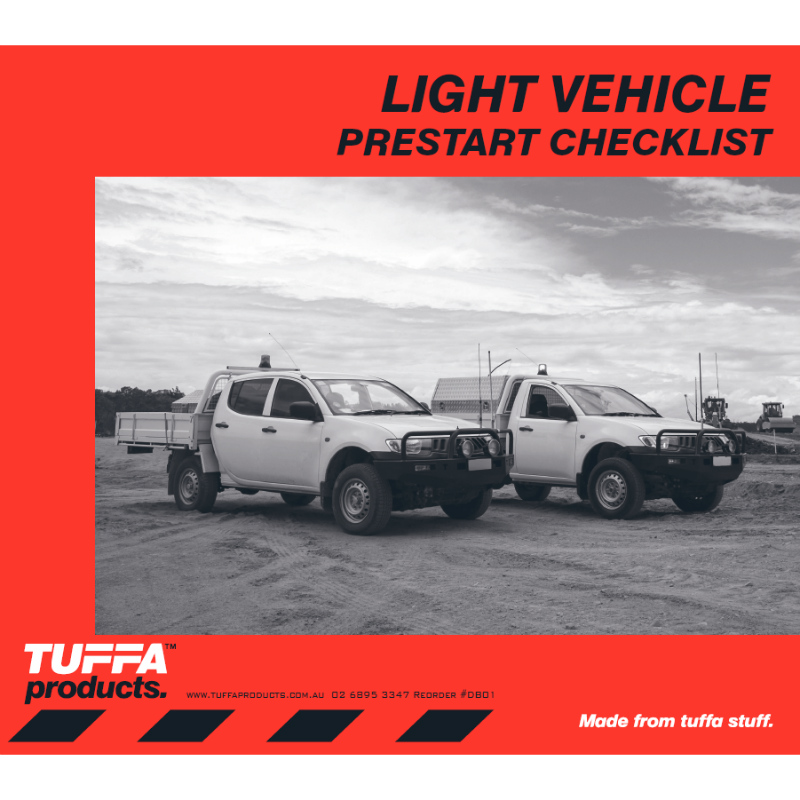 Light Vehicle Pre Start Checklist Books
