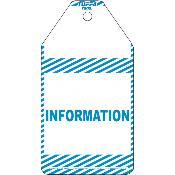 Information Tags – Pack Of 20